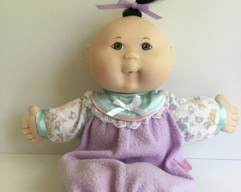 1995 Mattel CABBAGE PATCH KIDS Asian Baby Girl Doll