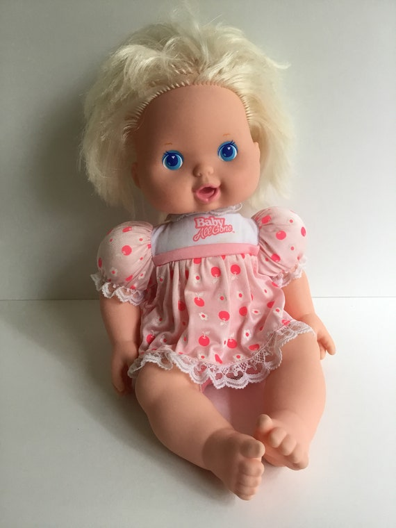 1991 Kenner Baby All Gone Doll Etsy