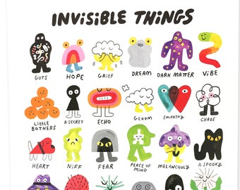 Invisible Things 16X20 Poster