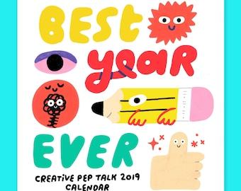 6x6 Best Year Ever 2019 Calendar