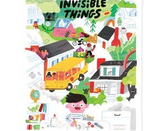 Invisible Things WORLD 16X20 Poster