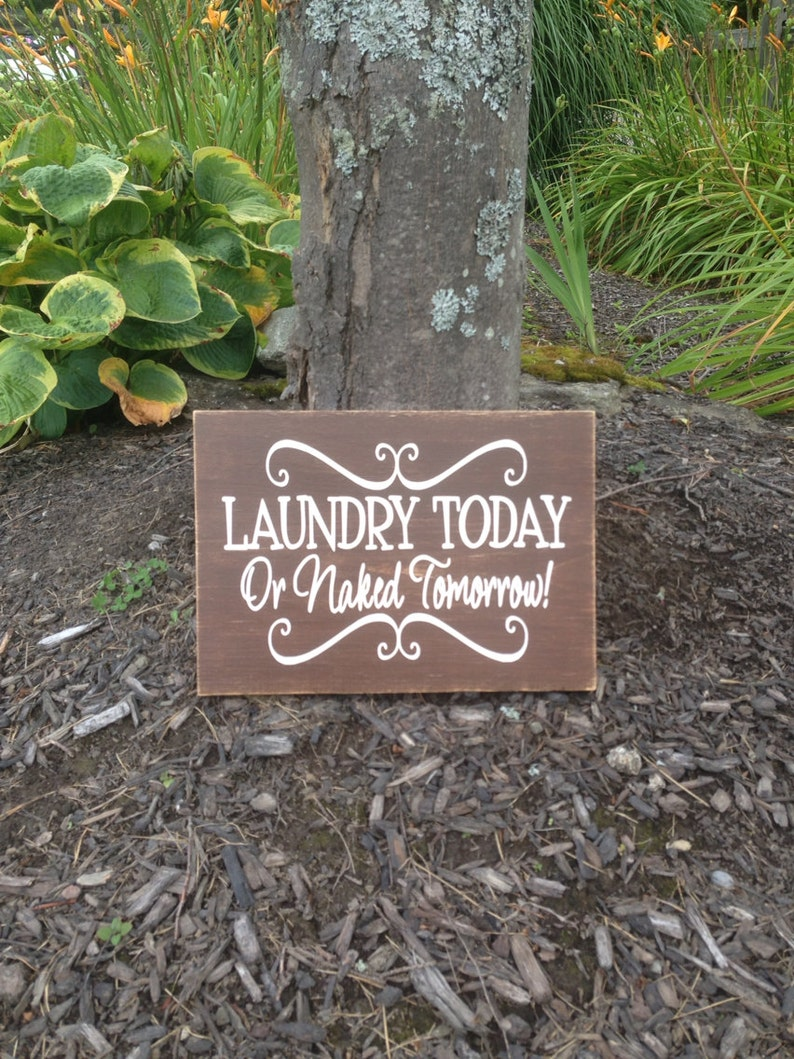 Primitive Laundry Room Little Socks Poem Wood Sign Rustic Country Distressed