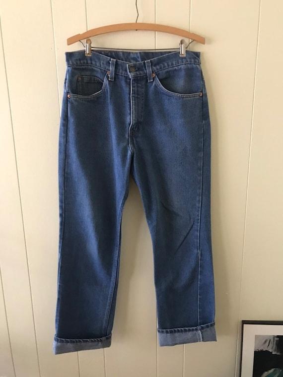 60's Levi's orange tab jeans size 32