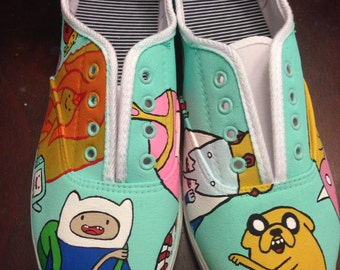 e6ee336f76545a Adventure Time inspired shoes