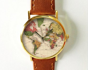 World map watch etsy gumiabroncs Images