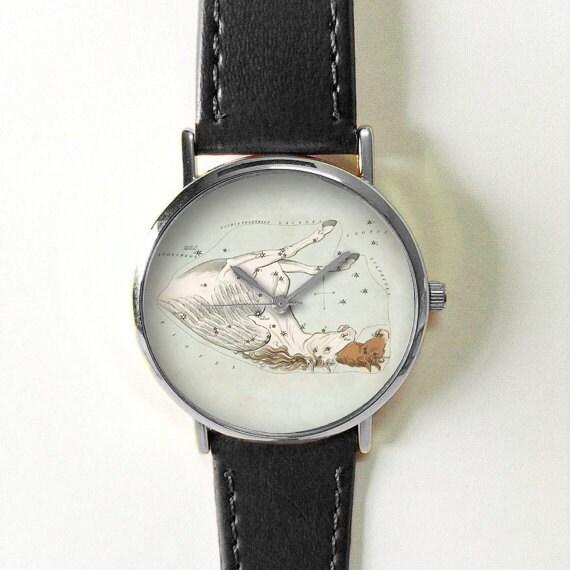 Zodiac Jewelry Pegasus Constellation Watch Print Star Map - Star map watch