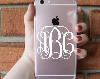 Monogram Phone Case | Monogram | iPhone Case | Galaxy Case | Southern Sweetheart Gifts
