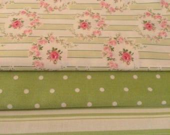 Barefoot Roses by Tanya Whelan  / Fabric Bundle / Yardage