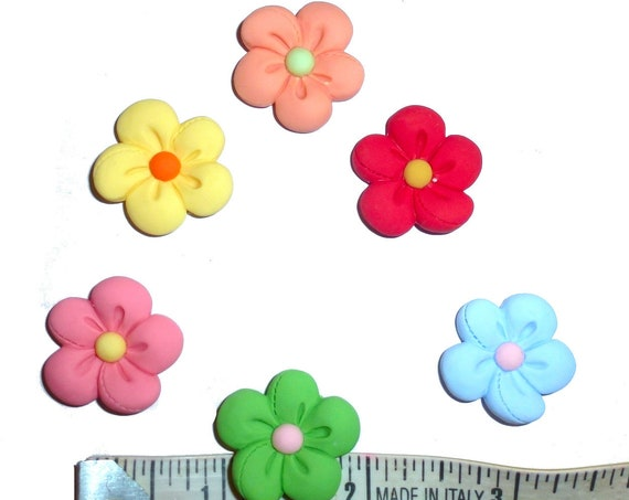 Puppy Dog Bows ~ cute daisy flower pet hair bow barrettes or bands (fb297)