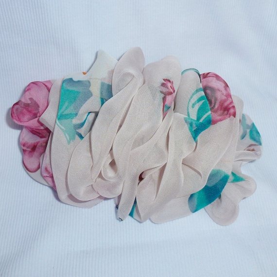 Becky Bows ~  Barrette ribbon Hand crafted over sized  BIG hair bow Women or Girls smokey mauve pink