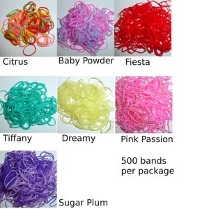 Non Latex Dog Grooming Bands silicone elastic dog bows bow TOPKNOT band whopesale bands groomers