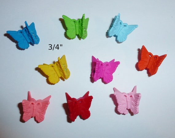 Puppy Bows ~ Butterfly jaw clip pet hair dog bow barrette bows for boys or girls ~USA seller