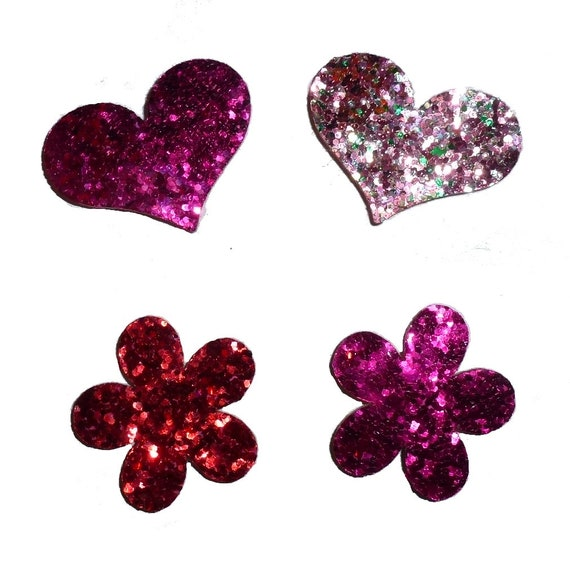 fb81 Puppy Bows ~6 black pink leaf scrollwork EVERYDAY BOWS Yorkie Maltese Shih Tzu ~Usa seller