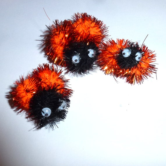 Puppy Bows ~ Halloween ladybug dog hair bow pet clip  ~USA seller