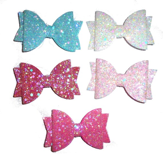 neck strap or  BIG DOG glitter collar slide pet hair bow with plastic ball clip barrette or latex bands  (fb129)