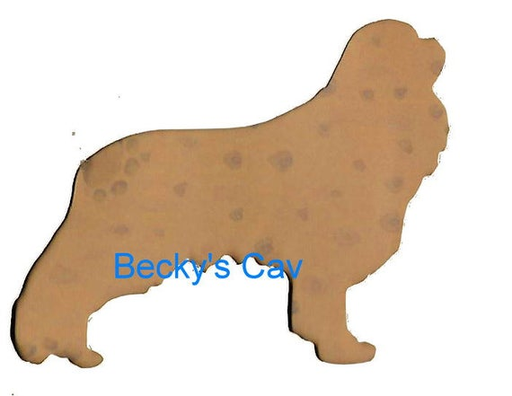 Puppy Bows ~ Cavalier King Charles Spaniel dog breed plastic craft stencil