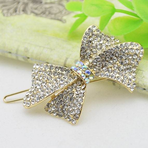 Puppy Bows ~ Rhinestone TIARA multi styles dog hair barrette clip CRYSTAL styles 21-25~USA seller