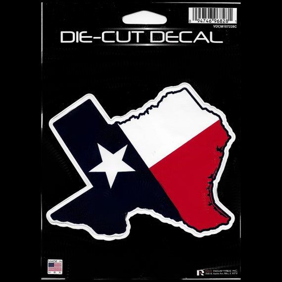 Puppy Bows ~ FREE SHIP! vinyl car window decal Texas flag state shape
