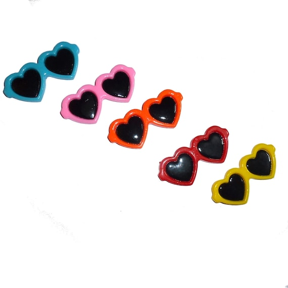 """Puppy Bows ~ Dog bow sunglasses  pet hair barrette clip for larger dogs 2.25"""" (Fb161)"""