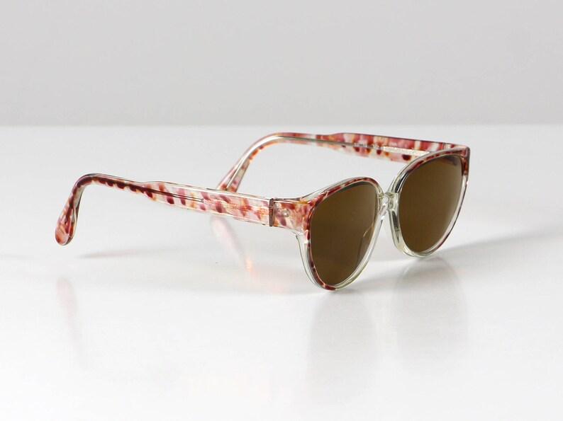 a8c55098b9 Red mottled glasses spectacle frame vintage eyeglasses