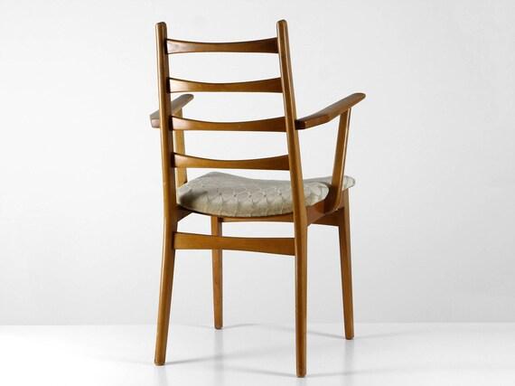 60er Essstuhl Modern Dining Chair Danish Design Stuhl Holz Etsy
