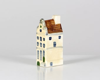 Hand painted Dutch House, Amsterdam house, Heerengracht Amsterdam, hand painted ceramic house