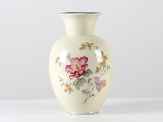 Bavaria Porzellan Vase Bavaria Bodenvase Johann Haviland | Etsy