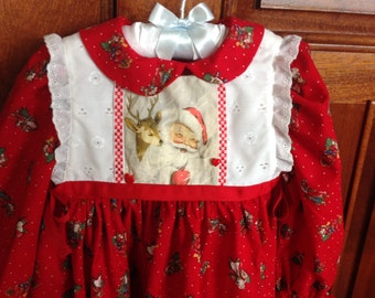 "Girl's Holiday Dress--""Natalie"" size 3"