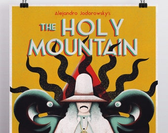 The Holy Mountain Alternative Movie Poster