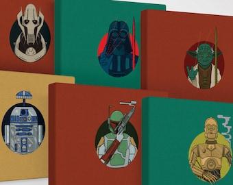 Star Wars Alternative Movie Canvas Art