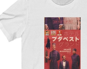Wes Anderson The Grand Budapest Hotel Tee