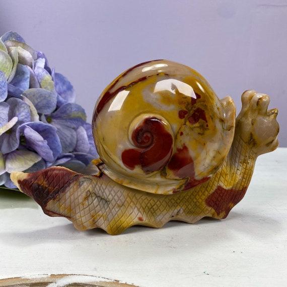 Large Mookaite Jasper Snail