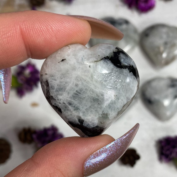 You Choose Rainbow Moonstone Hearts