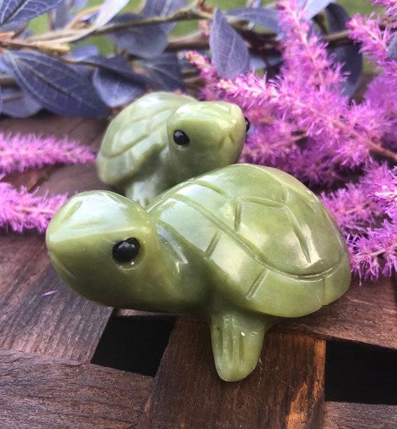 Jade Turtle Statue