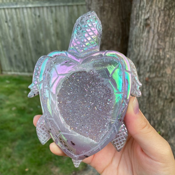 Aura Druzy Sea Turtle