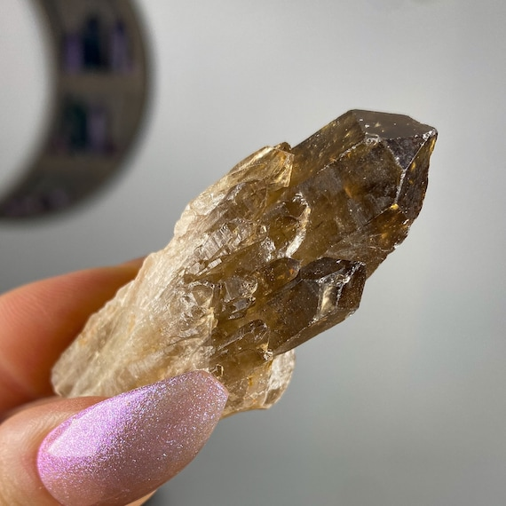 Natural Congo Citrine Point