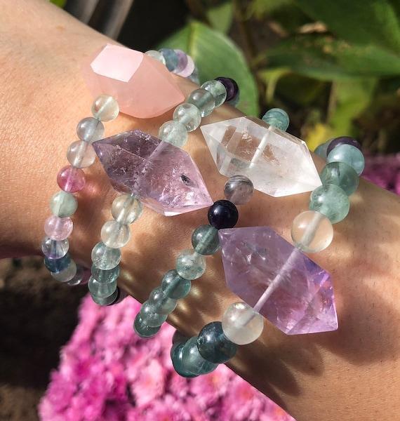 Fluorite DT Wand Bracelet