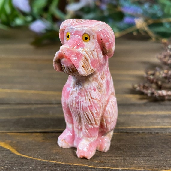 DISCOUNTED Rhodochrosite Dog