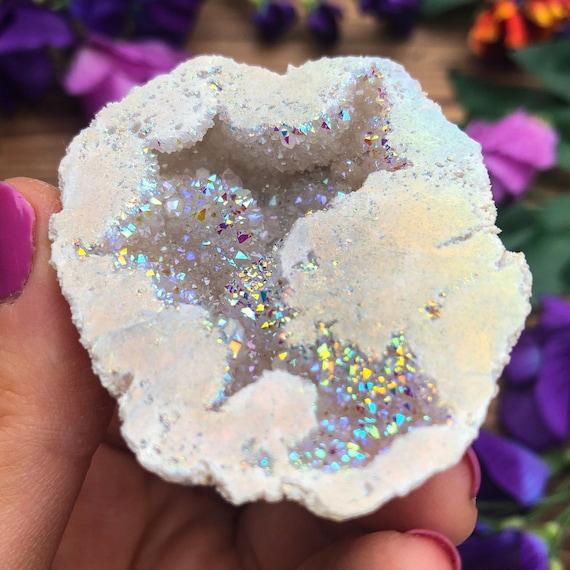 Angel Aura Geode Slice