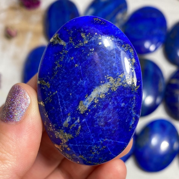 You Choose Lapis Lazuli Palm Stones