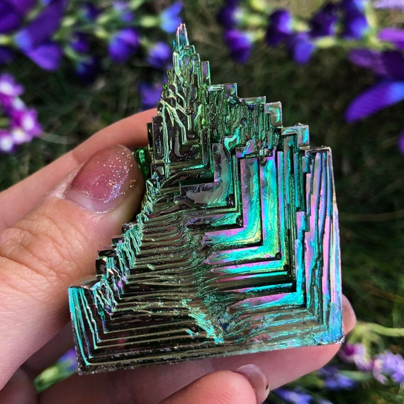 Bismuth Crystal Cluster