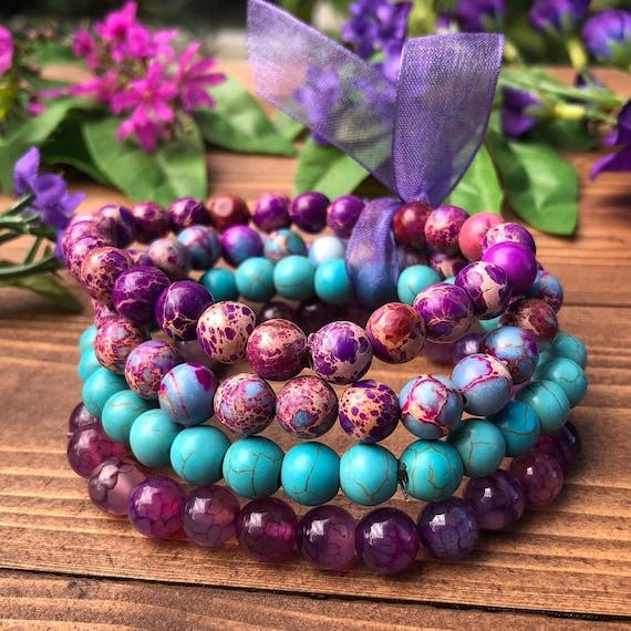 Boho Gemstone Bracelets