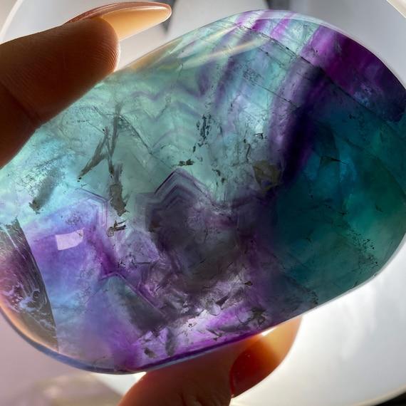 Rainbow Fluorite Freeform