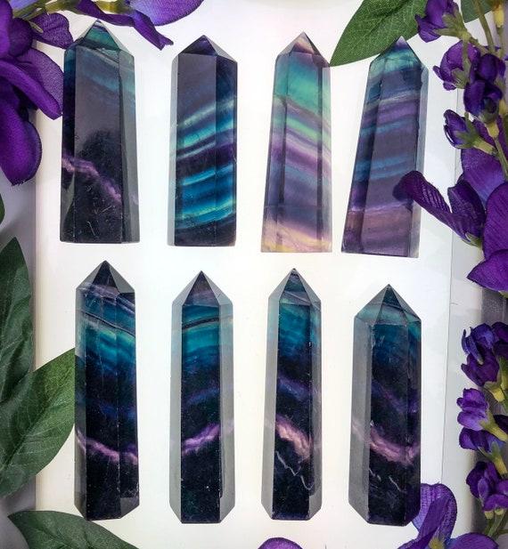 Rainbow Fluorite Towers