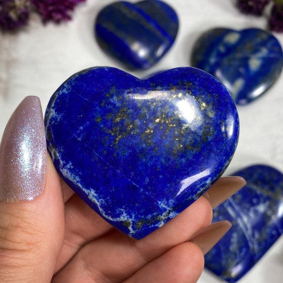 You Choose Deep Blue Lapis Lazuli Hearts