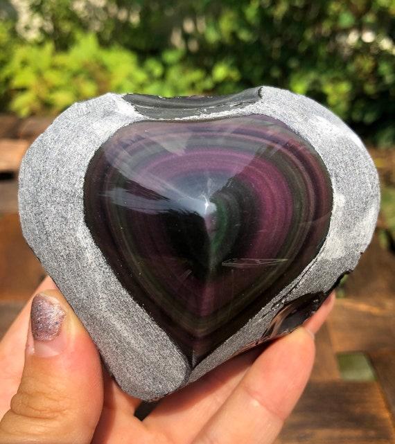 Rainbow Obsidian Raw Stone