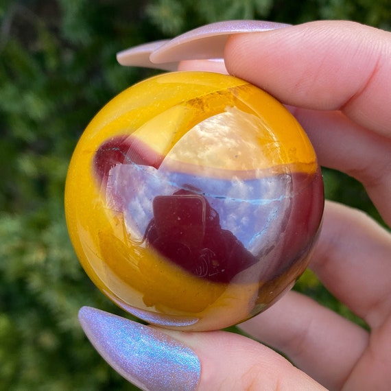 Mookaite Jasper Crystal Sphere With Stand