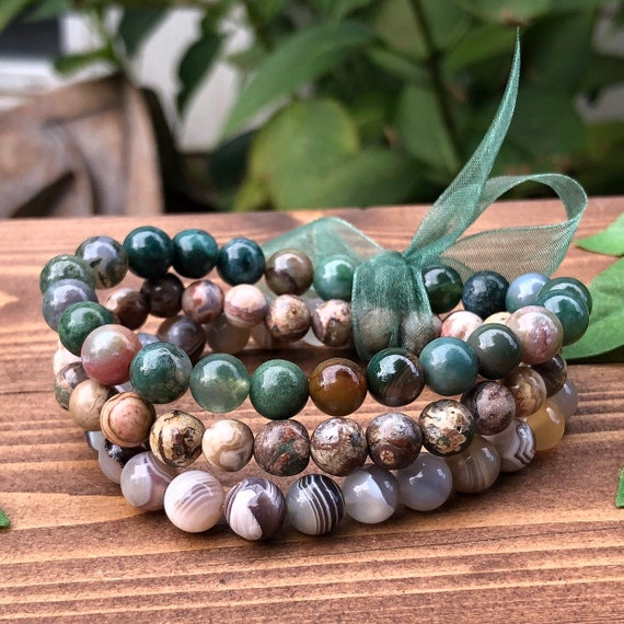 Grounding Earthy Bracelet Pack