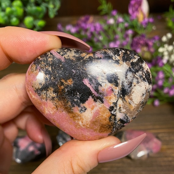 You Choose Rhodonite Hearts