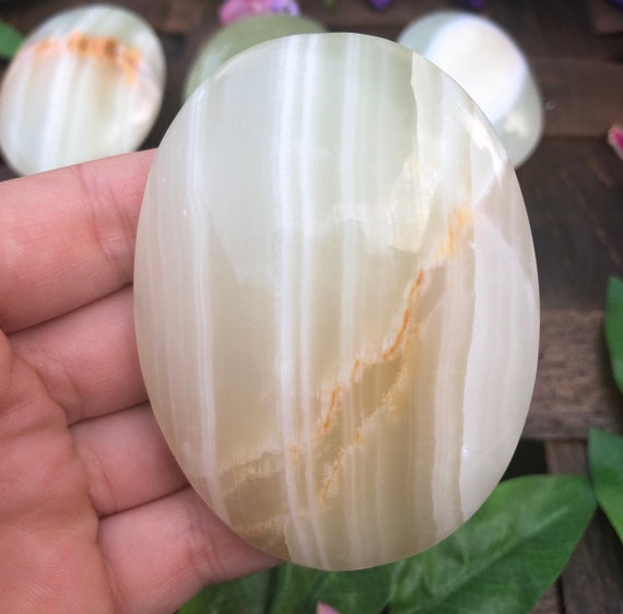 Banded Onyx Palm Stones